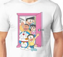 Doraemon and friends Unisex T-Shirt