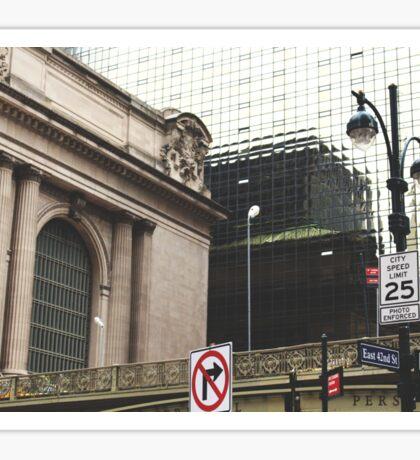 East 42nd Street Sticker