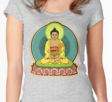 BUDDHA'S BLESSINGS Women's Fitted Scoop T-Shirt
