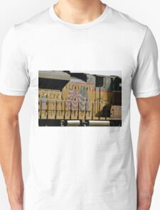 Patriotic Train Unisex T-Shirt