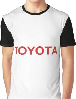 Toyota Logo Graphic T-Shirt