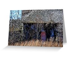 The Old Farmstead  Greeting Card