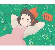 Pastel KiKi Photographic Print