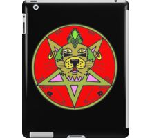 PUNK KITTY RED iPad Case/Skin