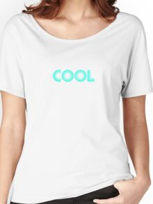 Cool Blue Neon Women's Relaxed Fit T-Shirt