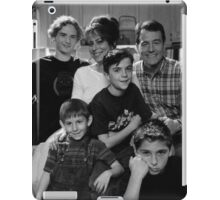 Malcolm in the Middle B&W photo iPad Case/Skin