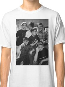 Malcolm in the Middle B&W photo Classic T-Shirt