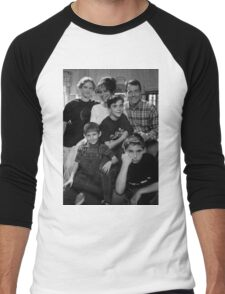 Malcolm in the Middle B&W photo Men's Baseball ¾ T-Shirt