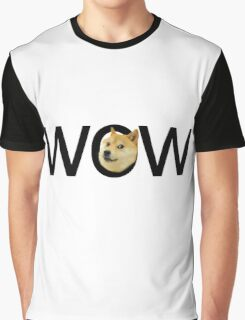 WOW Doge Graphic T-Shirt