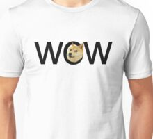 WOW Doge Unisex T-Shirt