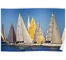Sailing by Poster
