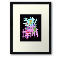 Rectangle Abstract   Framed Print