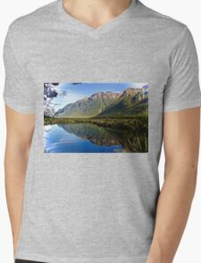 Mirror Lake Mens V-Neck T-Shirt