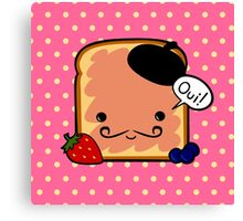 French toast Canvas Print