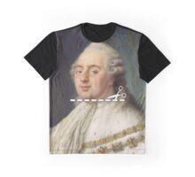 Cut Here - Louis XVI Graphic T-Shirt
