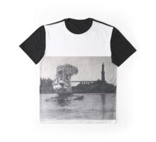 Old floating crane Graphic T-Shirt