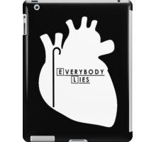 House - Everybody Lies iPad Case/Skin
