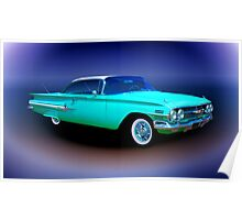 1960 Chevrolet Impala Sport Coupe Poster