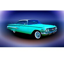 1960 Chevrolet Impala Sport Coupe Photographic Print