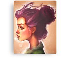 Violet Canvas Print