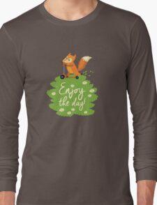 Cute foxes Long Sleeve T-Shirt