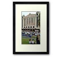 THE ICONIC PALAIS THEATRE ST. KILDA Framed Print