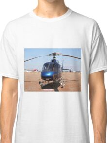 Blue helicopter aircraft Classic T-Shirt