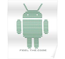 Android - Feel the Code - Design Poster