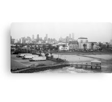 Melbourne Skyline Canvas Print