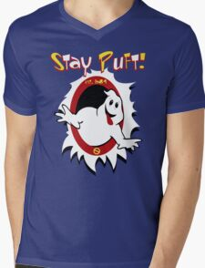 Stay Puft! Mens V-Neck T-Shirt