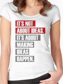 make it happen Women's Fitted Scoop T-Shirt