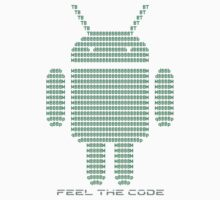 Android - Feel the Code - Design One Piece - Long Sleeve