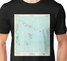 USGS TOPO Map Puerto Rico PR Cayo Icacos 362076 1958 20000 Unisex T-Shirt