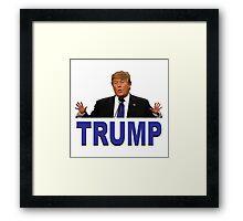 Trump Hands Framed Print