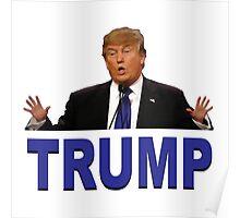 Trump Hands Poster