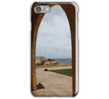 Malta, Valletta, Salutting Battery iPhone Case/Skin