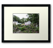 Unicorn House Framed Print