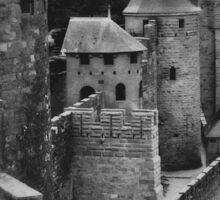 Carcassonne Castle Sticker