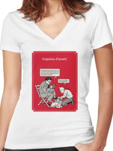 Copains 2012 Women's Fitted V-Neck T-Shirt