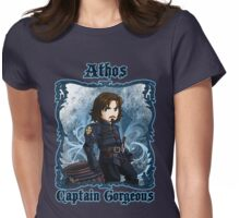Athos Captain Gorgeous  Womens Fitted T-Shirt