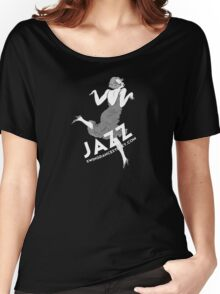 Swing Dance Sydney dancing woman b&w woman Women's Relaxed Fit T-Shirt