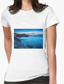Cala d'Enmig during blue hour T-Shirt