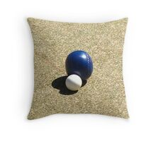 lawn bowls Throw Pillow
