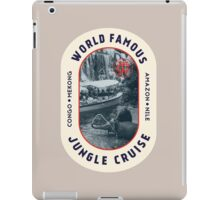 World Famous Jungle Cruise travel sticker iPad Case/Skin