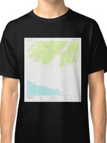USGS TOPO Map Hawaii HI Pohue Bay 349673 1962 24000 Classic T-Shirt