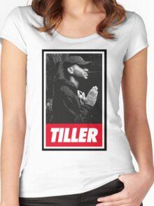 Bryson Tiller [4K] Women's Fitted Scoop T-Shirt