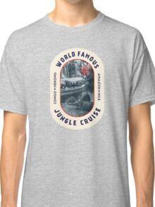 World Famous Jungle Cruise travel sticker Classic T-Shirt