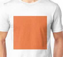 Deep Carrot Orange Unisex T-Shirt