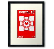 Love cube Framed Print