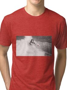 Red Curl Tri-blend T-Shirt